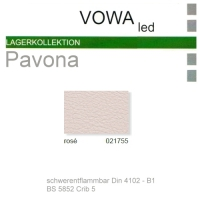"""Kunstleder """"PAVONA"""" B1 - 021755 rose"""