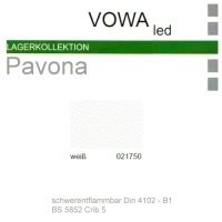 """Kunstleder """"PAVONA"""" B1 - 021750 weiß"""