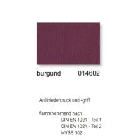 """Kunstleder """"PADOVA Plus"""" - 014602 burgund"""