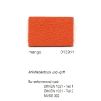 """Kunstleder """"PADOVA Plus"""" - 013911 mango"""