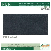 """Kunstleder """"PERI"""" - 016046 antracit / basalt"""