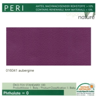 """Kunstleder """"PERI"""" - 016041 aubergine"""