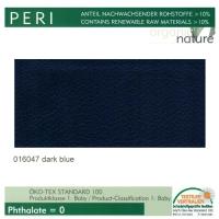 """Kunstleder """"PERI"""" - 016047 dark blue / traube"""