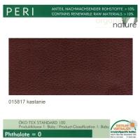 "Kunstleder ""PERI"" - 015817 kastanie"