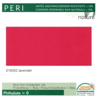 "Kunstleder ""PERI"" - 016042 lavendel / himbeere"