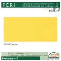 """Kunstleder """"PERI"""" - 016039 lemon / zitrone"""