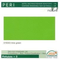 """Kunstleder """"PERI"""" - 016043 lime green / limette"""