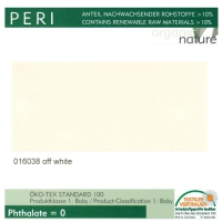 "Kunstleder ""PERI"" - 016038 off white"