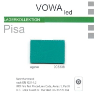 "Kunstleder ""PISA"" - 003338 agave"