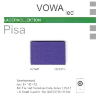 """Kunstleder """"PISA"""" - 003316 violett"""