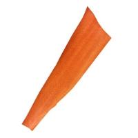Lachsleder lackiert - orange