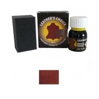 Leather's Choice Leather Dye - 40ml - rotbraun