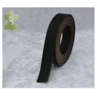 Lederriemen aus Geschirrleder - schwarz