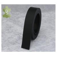 Lederriemen, Gürtelriemen aus Rindvollleder - schwarz XL