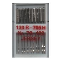 10 Nähmaschinennadeln Jersey, 130R/705H, 70 - 100