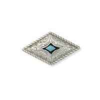 Prairie Dust Concho - diamond