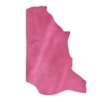 Pull-Up Leder DENVER - 1/2 Haut - electric pink