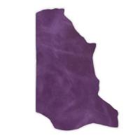 Pull-Up Leder DENVER - 1/2 Haut - electric purple