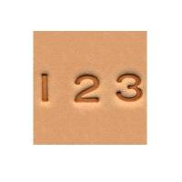 Punzierstempel-Set Nummern - 6,3mm