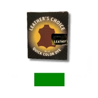 Leather's Choice Quick Color Dye - 40ml - green
