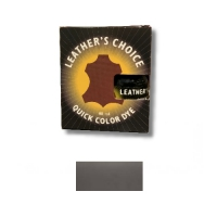 Leather's Choice Quick Color Dye - 40ml - gun metal