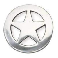 Ranger Star Concho - 32mm - silber