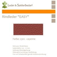 Rind-Möbelleder EASY - 2302 cayenne