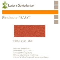 Rind-Möbelleder EASY - 2303 chili