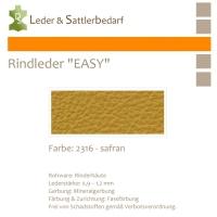 Rind-Möbelleder EASY - 2316 safran