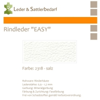 Rind-Möbelleder EASY - 2318 salz