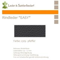 Rind-Möbelleder EASY - 2319 pfeffer