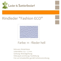 Rindleder Fashion-ECO - 1/4 Haut - 11 flieder hell