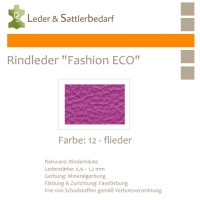 Rindleder Fashion-ECO - 1/4 Haut - 12 flieder hell