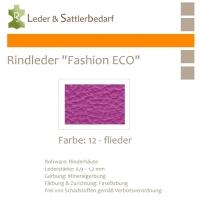 Rindleder Fashion-ECO - 1/2 Haut - 12 flieder