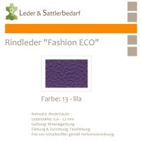 Rindleder Fashion-ECO - 1/2 Haut - 13 lila