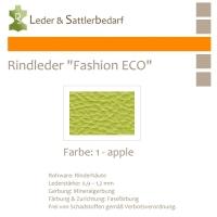 Rindleder Fashion-ECO - 1/2 Haut - 1 apple
