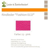 Rindleder Fashion-ECO - 1/2 Haut - 23 pink