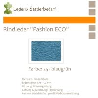 Rindleder Fashion-ECO - 1/4 Haut - 25 blaugrün