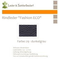 Rindleder Fashion-ECO - 1/2 Haut - 29 dunkelgrau