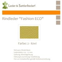 Rindleder Fashion-ECO - 1/2 Haut - 2 kiwi