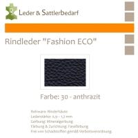 Rindleder Fashion-ECO - 1/2 Haut - 30 anthrazit