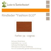 Rindleder Fashion-ECO - 1/2 Haut - 34 cognac