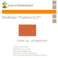 Rindleder Fashion-ECO - 1/2 Haut - 44 orangebraun