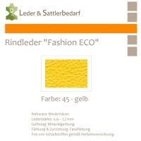 Rindleder Fashion-ECO - 1/2 Haut - 45 gelb