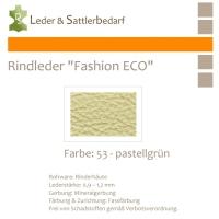 Rindleder Fashion-ECO - 1/4 Haut - 53 pastellgrün