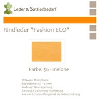 Rindleder Fashion-ECO - 1/2 Haut - 56 melone