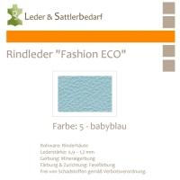 Rindleder Fashion-ECO - 1/2 Haut - 5 babyblau
