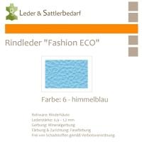 Rindleder Fashion-ECO - 1/2 Haut - 6 himmelblau