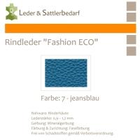 Rindleder Fashion-ECO - 1/2 Haut - 7 jeansblau