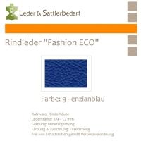 Rindleder Fashion-ECO - 1/4 Haut - 9 enzianblau